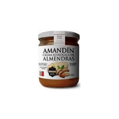 Crema de ALMENDRAS 330 g Amandin