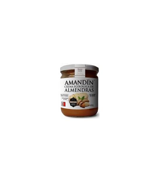 Crema de almendras bio Amandin