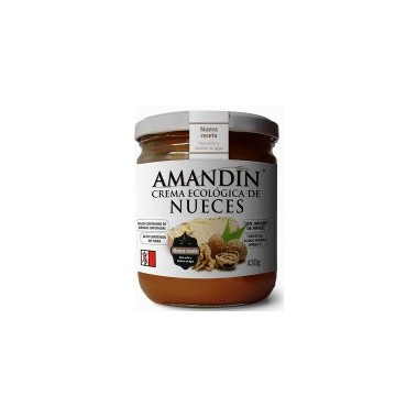 Crema de NUECES 330 g. Amandin
