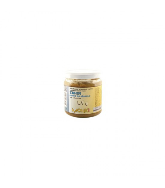 TAHÍN con sal tostado 330 g. Monki
