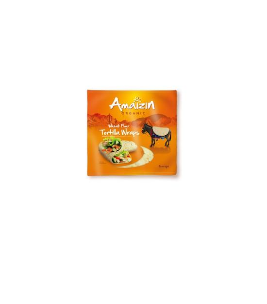 Tortitas WRAPP 240 g. Amaizin