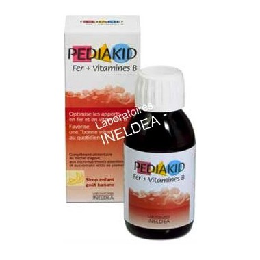 Jarabe infantil HIERRO y Vit B 125 ml. Pediakid