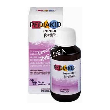 Pediakid inmuno jarabe infantil 125ml. Mirtilo Vam