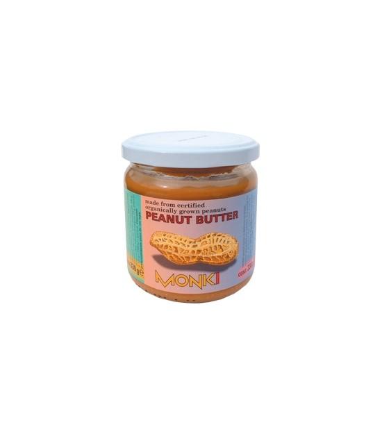 Crema de cacahuetes monki 330 g bio