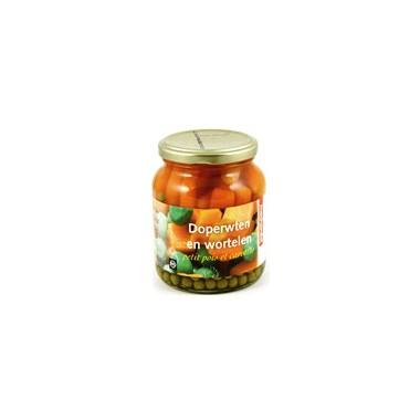 Guisantes y zanahorias Machandel