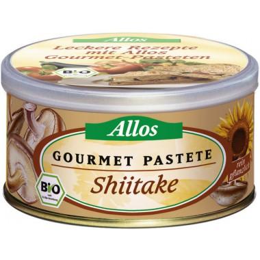 Pate allos con setas shiitake 125 g bio allos