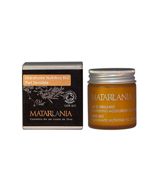 Hidratante nutritiva piel SENSIBLE 30 ml Matarrani