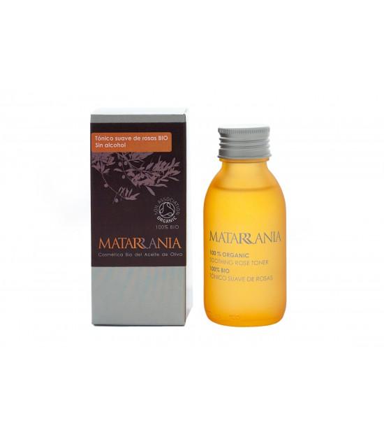 Tónico FACIAL suave ROSAS 100 ml. Matarrania