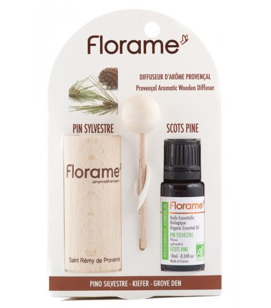 Difusor madera PINO Florame