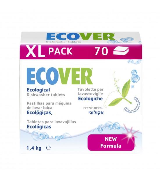 Lavavajillas 70 tabletas 1,4 Kg Ecover