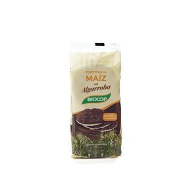 Tortitas maíz ALGARROBA 100 g. Biocop