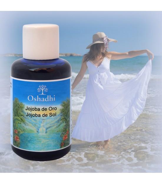 Aceite facial JOJOBA de SOL 100 ml. Oshadhi
