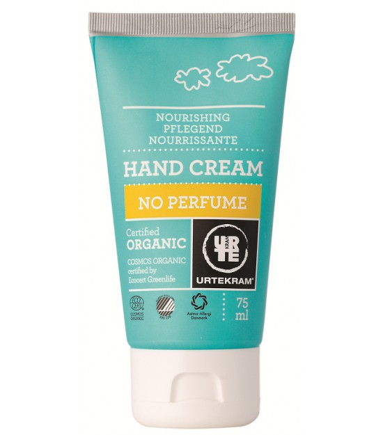 Crema de manos No perfume urtekram 75ml.