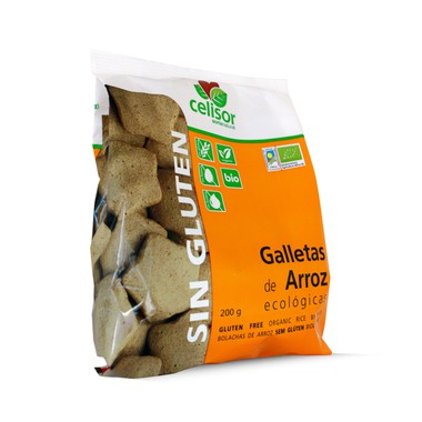 Galletas de ARROZ s/g 200 g. Soria Natural