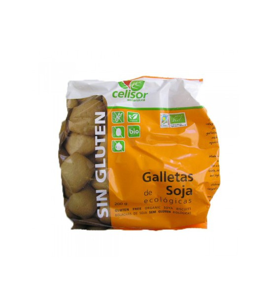 Galletas SOJA s/g 200 g. Soria Natural