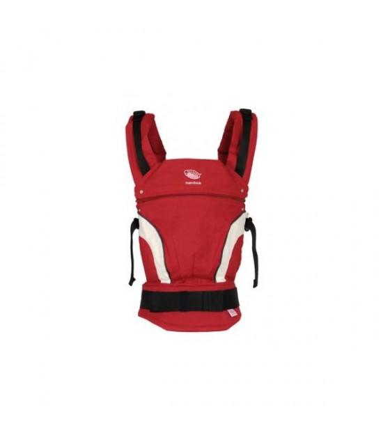 Mochila portabebés manduca nuevo diseño Roja
