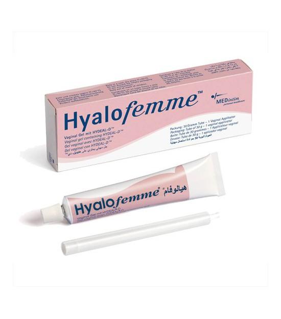 Gel lubricante Hyalofemme