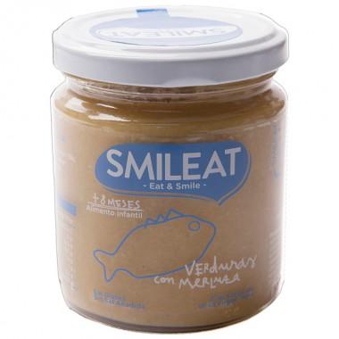 Potito VERDURAS con MERLUZA 230 g. Smileat