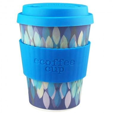 Vaso de bambu SAKURA BLUE 340 ml