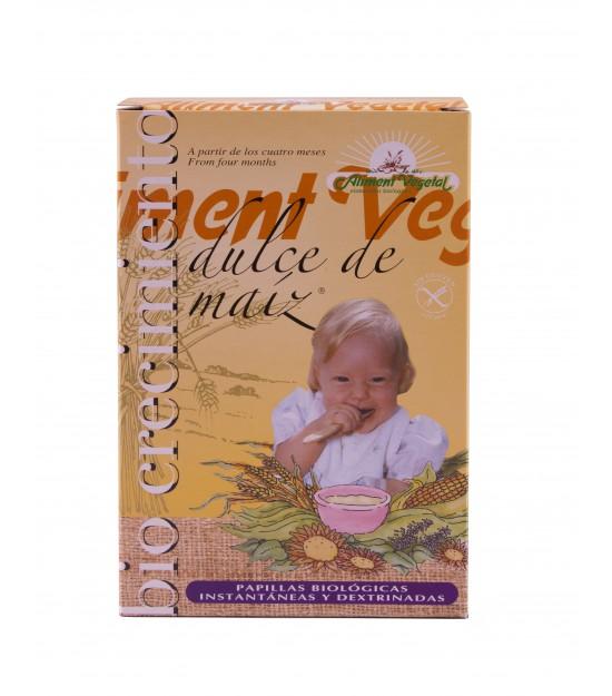 Papilla dulce MAÍZ 400 g. Aliment Vegetal