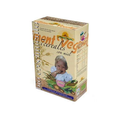 Papilla 7 CEREALES 400 g. Aliment Vegetal
