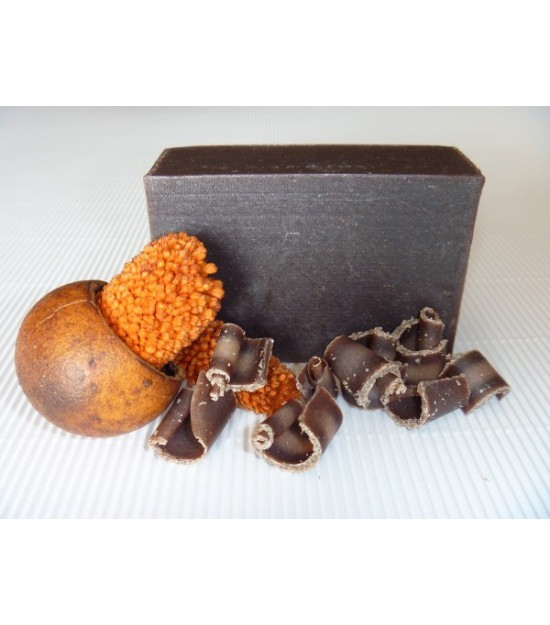 Jabón artesano chocolate