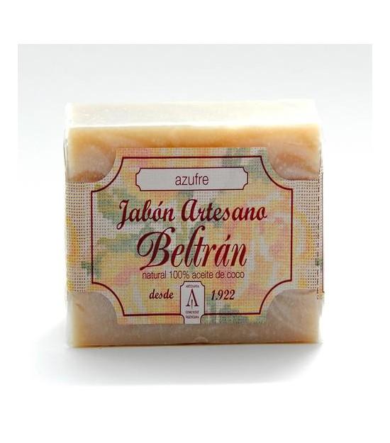 Jabón artesano AZUFRE